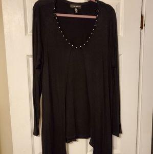 Black fooler sweater